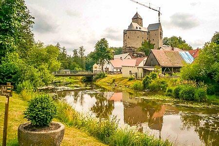 Hammermühle im Waldnaabtal in Falkenberg im Fichtelgebirge