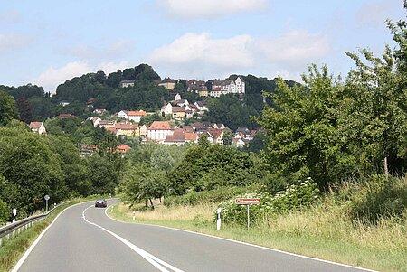 Egloffstein Burgenstrassenschild