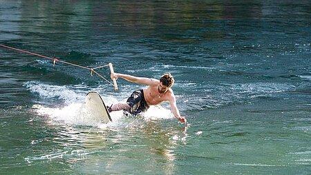 Wasserski am Chiemsee und im Chiemgau
