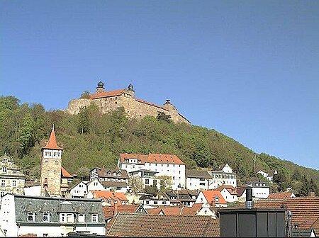 Webcams in Kulmbach - Liveblick zur Plassenburg