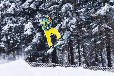 Snowboarden am Chiemsee und im Chiemgau