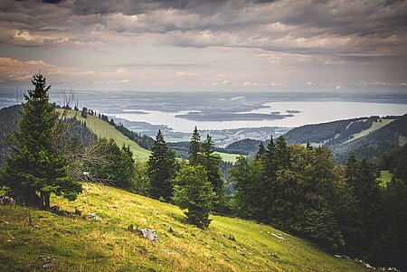 Aussichtspunkte am Chiemsee und im Chiemgau