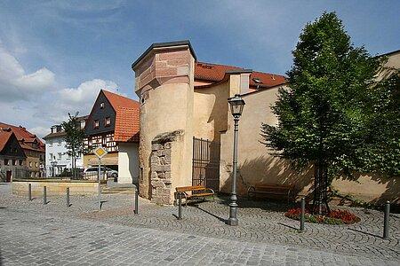 Weißer Turm in Kulmbach