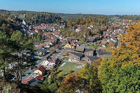 Ort Waischenfeld in der Fränkischen Schweiz