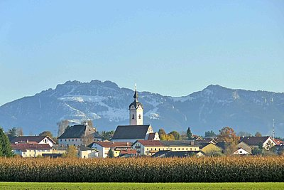 Herbst in Vogtareuth in der Region Chiemsee