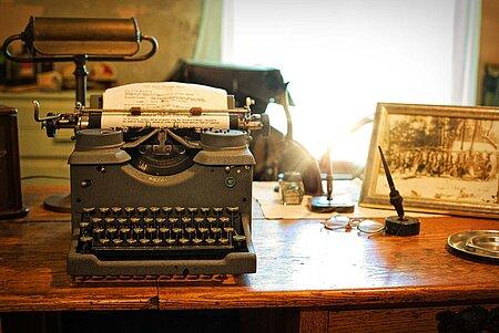 Schreibmaschinen Museum in Bayreuth