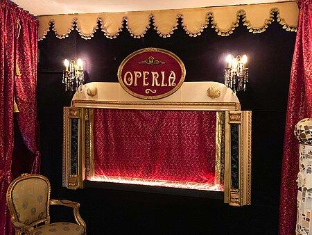 Bühne des Operla in Bayreuth