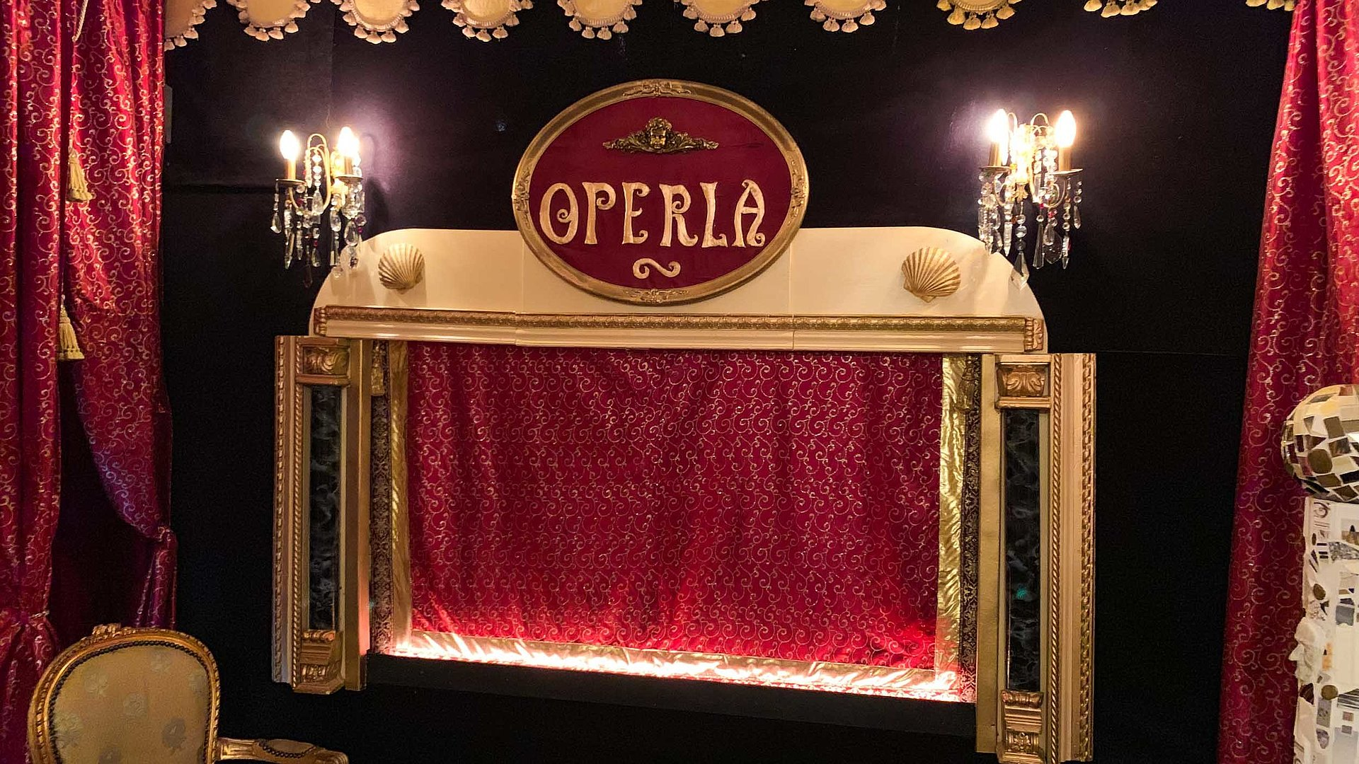 Marionettentheater Operla in Bayreuth
