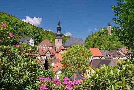 Bad Berneck im Fichtelgebirge inklusive Hotels, Ferienwohnungen und Pensionen im Fichtelgebirge