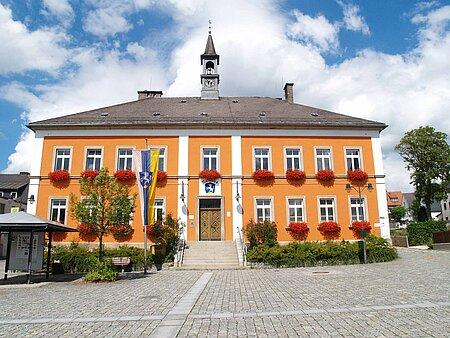 Rathaus in Röslau im Fichtelgebirge