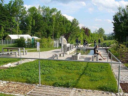 Kneippanlagen in Bayreuth