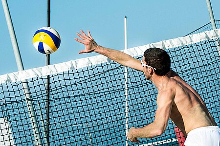 Beachvolleyball Chiemsee Chiemgau