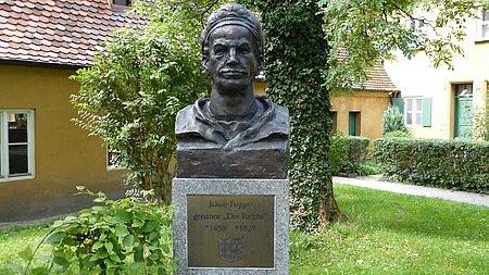 Jakob-Fugger-Denkmal in Augsburg