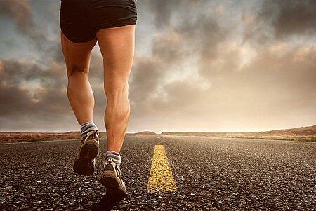 Marathon und Jogging im Fichtelgebirge