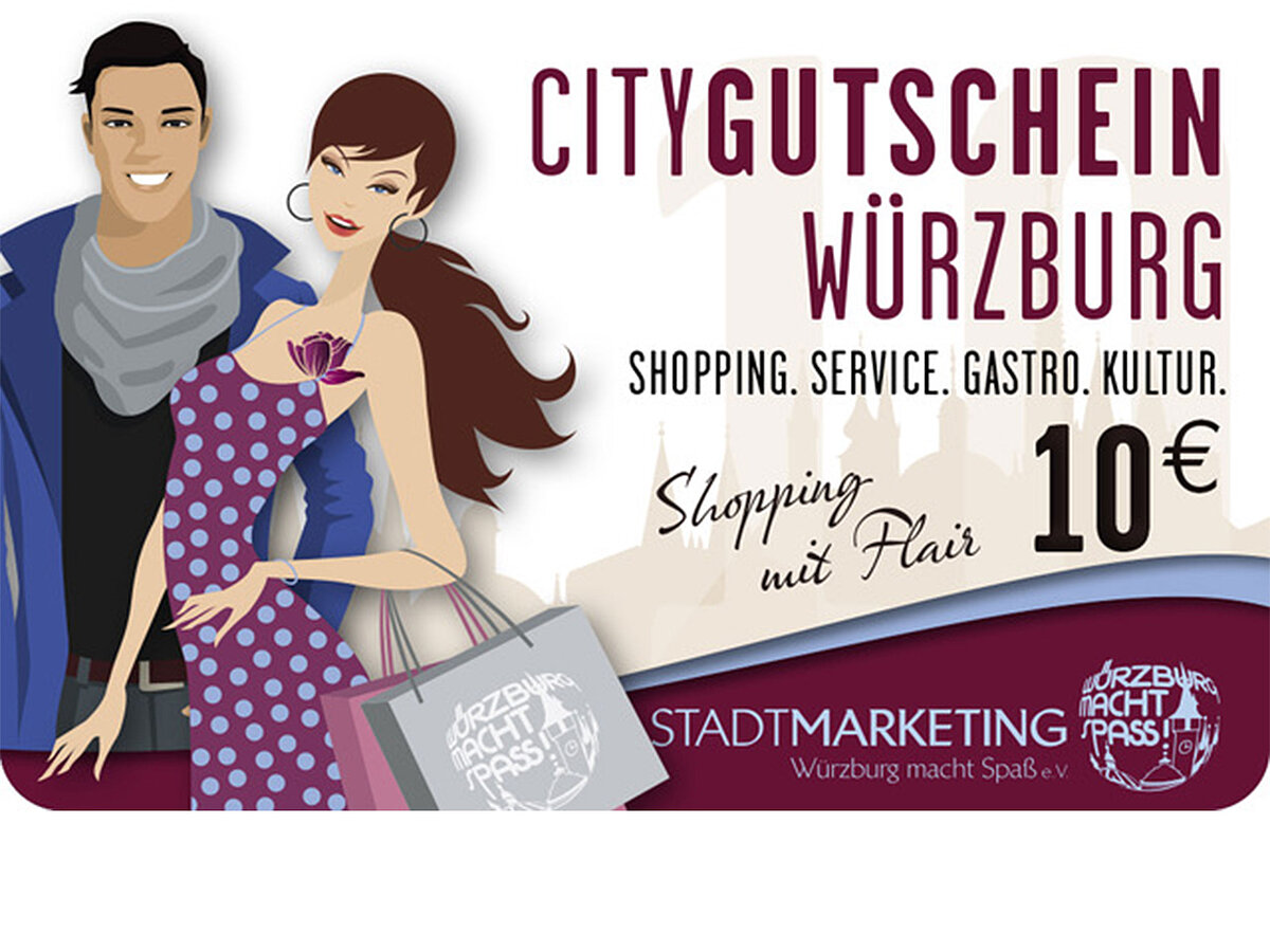 city gutschein würzburg