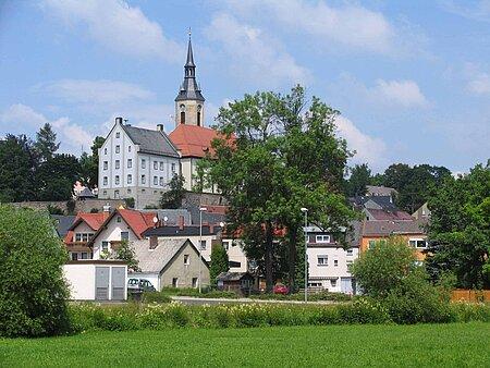 Evangelische Kirche in Arzberg im Fichtelgebirge