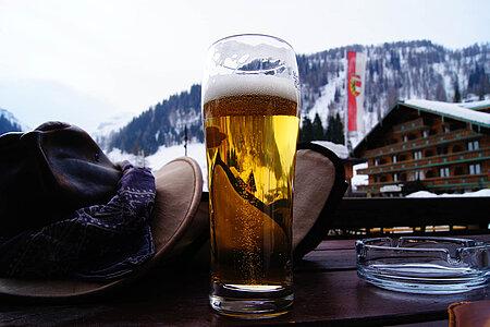 Bier in Bergen in der Region Chiemsee
