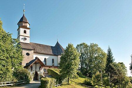 Maria Eck Kirche in Siegsdorf in der Region Chiemsee