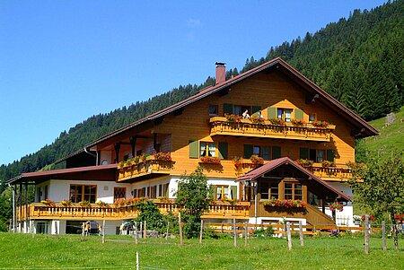 Haus in Balderschwang im Oberallgäu-Kleinwalsertal