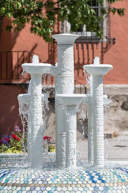 Selb Porzellanbrunnen