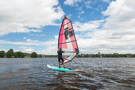 Windsurfen in Bayreuth
