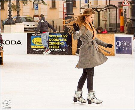 Eissport im Fichtelgebirge