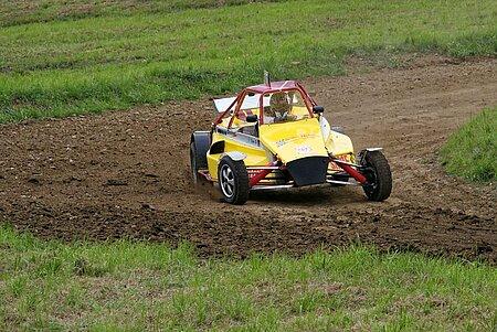 Autocross fahren im Fichtelgebirge