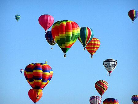 Ballonfahren im Ostallgäu