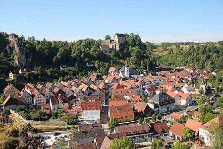 Panbreitenstein in Pottensteinin der Fränkischen Schweiz