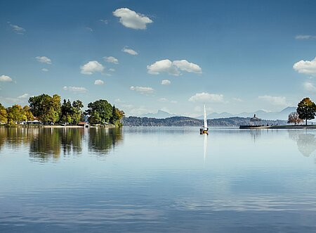Waging am See in der Region Chiemsee