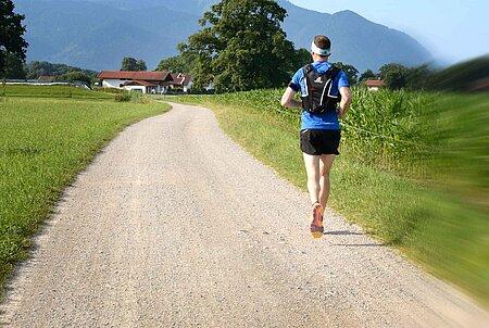Laufen und Joggen am Chiemsee und im Chiemgau
