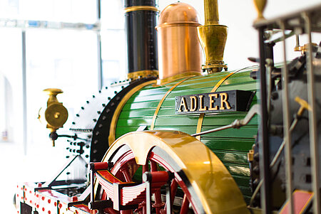 der legendäre Adler im DB Museum Nürnberg