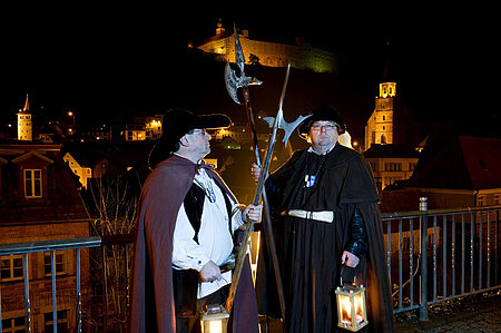Historische Nachtwächterführung durch Kulmbach