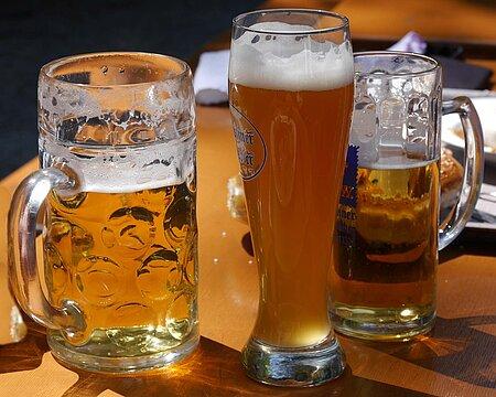 Bier im Fichtelgebirge