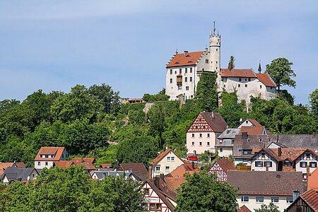 Städte und Gemeinden in der Fränkischen Schweiz - Ort - Burg
