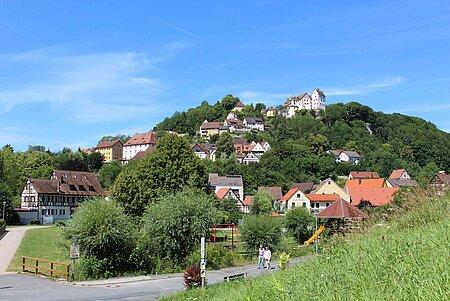 Egloffstein in der Fränkischen Schweiz mit Hotels, Ferienwohnungen und Pensionen.