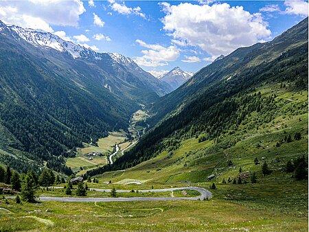 Pfronten-Meran-Alpenüberquerung in Pfronten im Ostallgäu