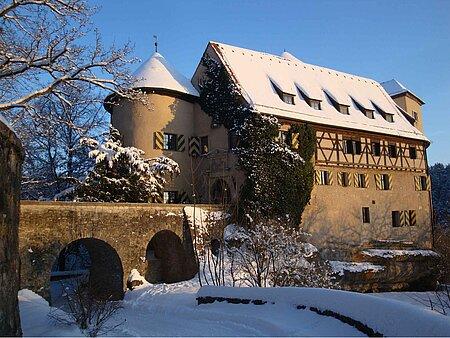 Burg Rabenstein in Ahorntal in der Fränkischen Schweiz
