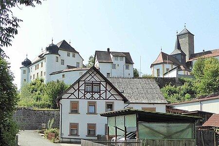 Heckenhof in Aufseß in der Fränkischen Schweiz