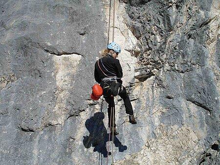 Klettern im Fichtelgebirge