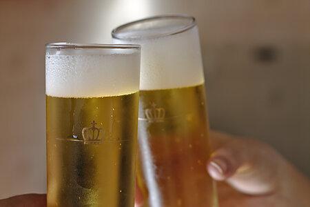 Bier von Hof im Fichtelgebirge