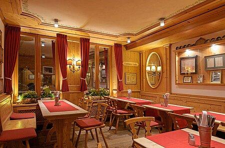 Gastraum Goldenes Posthorn Nürnberg