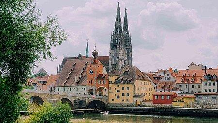 Reisen auf Goethes Spuren: durch Bayern nach Italien - Regensburg
