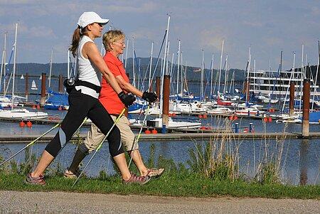 Nordic Walking im Fränkischen Seenland