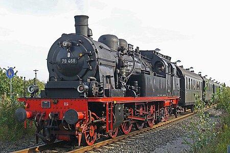 Dampflokomotiv Museum bei Kulmbach