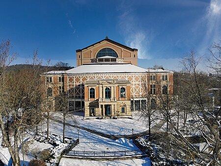 Luftbild Festspielhaus Bayreuth