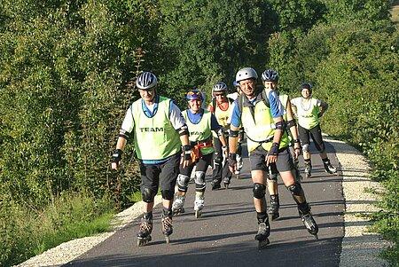Inline-Skaten im Fränkischen Seenland