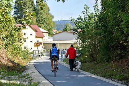 Warmensteinach Radfahren