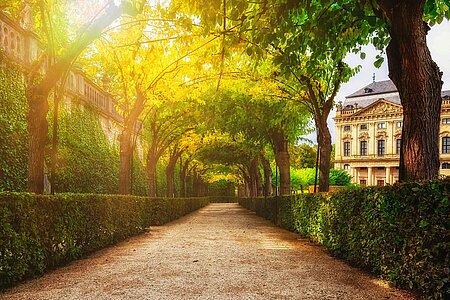 Botanischer Garten in Würzburg