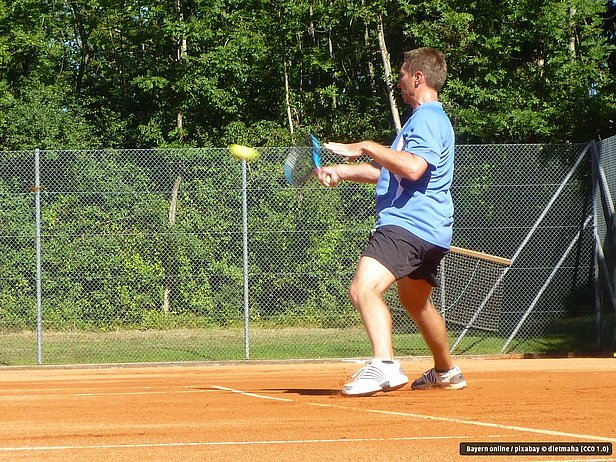 Tennis in Siegsdorf im Chiemgau